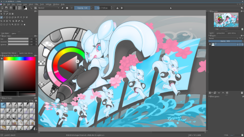 screenshot-krita